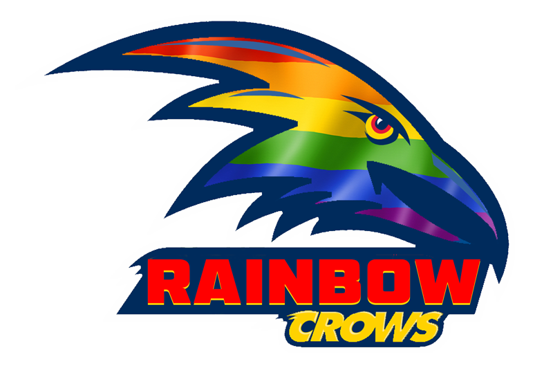 Rainbow Crows